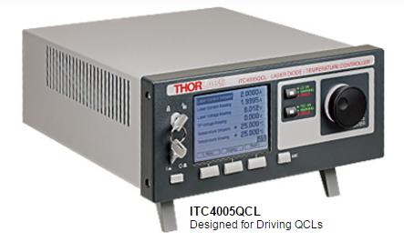 Quantum Cascade Laser (QCL) Current & TEC Controllers